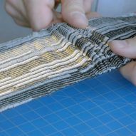 Rich Brilliant Willing combines flexible OLED panels with 3D knitting for NYCxDesign