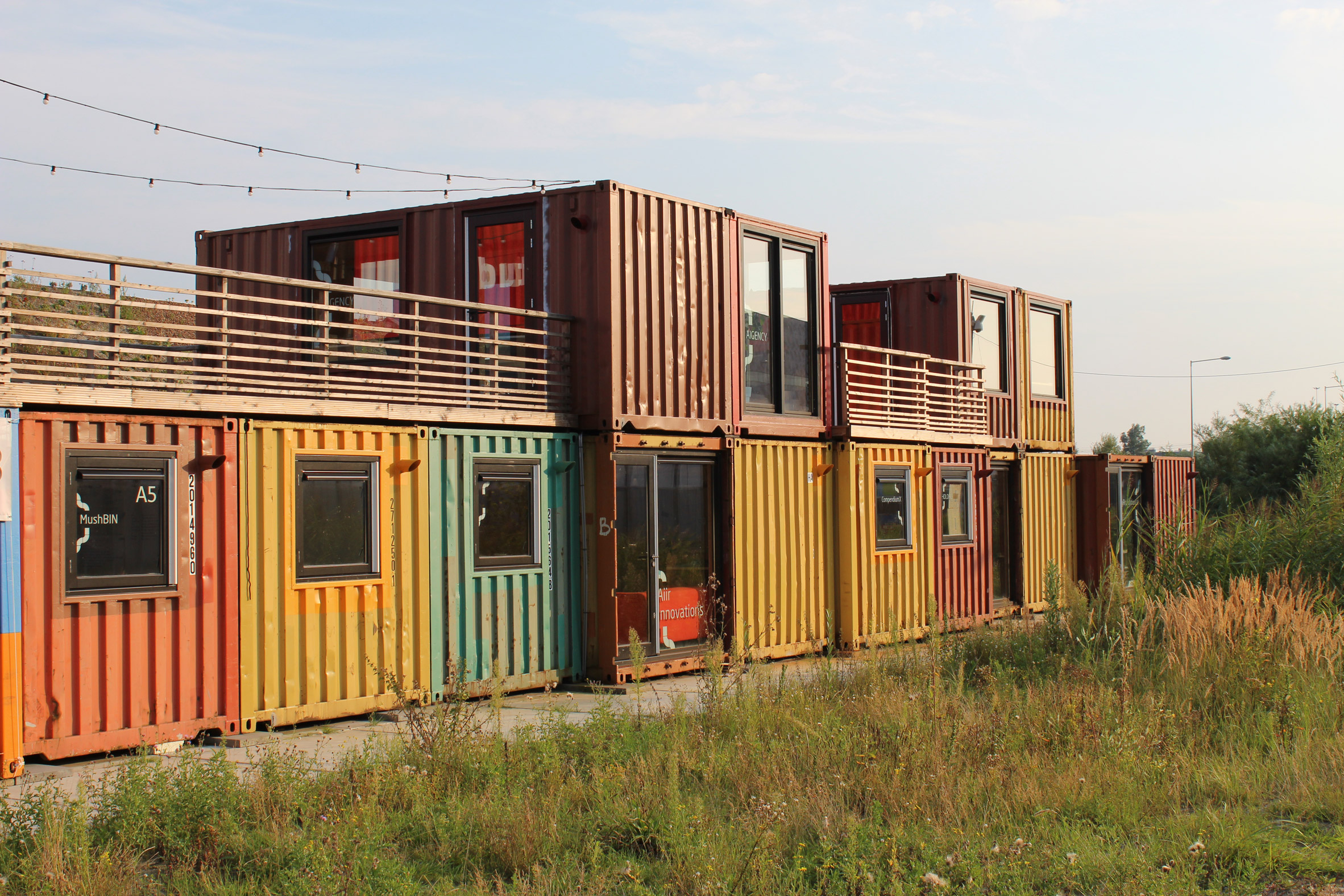 Startup Village by Julius Taminiau Architects