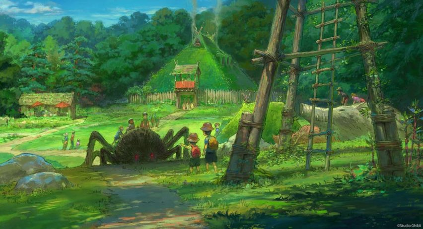 Studio Ghibli announce theme park will open by 2022