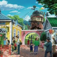 Studio Ghibli reveals visualisations for new theme park in Japan