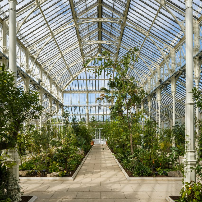 Temperate House Kew Gardens restoration by Donald Insall Associates