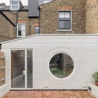 Simon Astridge adds white-brick extension to refurbished Victorian house