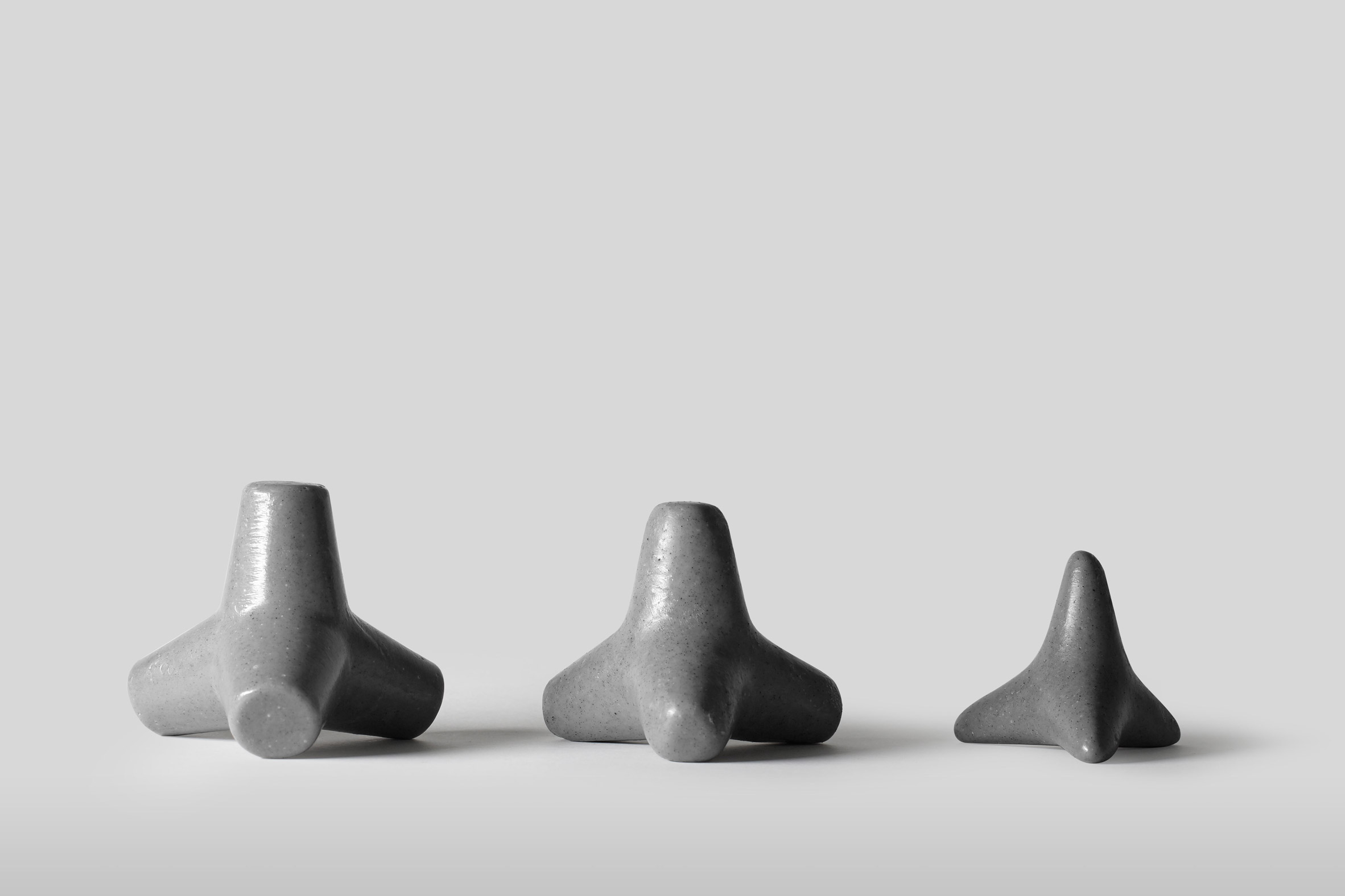 Tetra Soap is designed to look like concrete structures