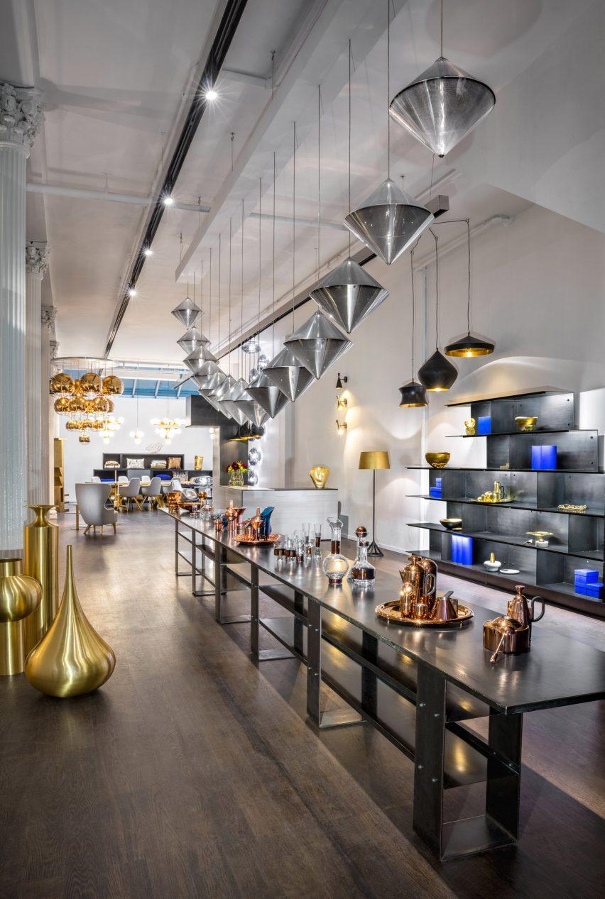 Tom Dixon opens store on New York's Greene Street