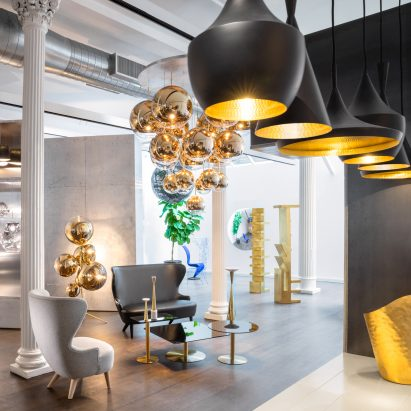 Tom dixon moves in to permanent store in new yorks soho