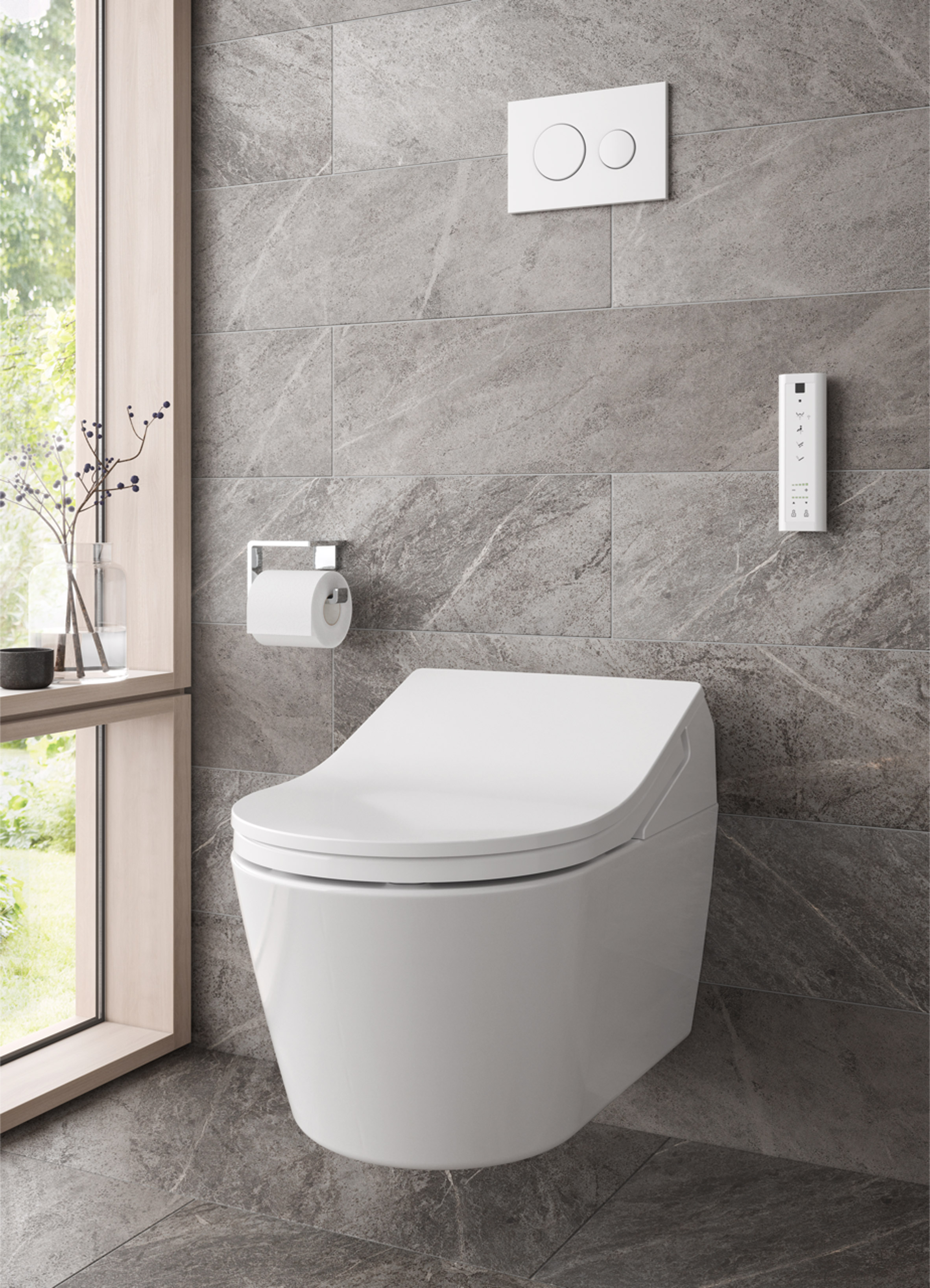 David Morley discusses how Toto bathroom products can reduce water ...