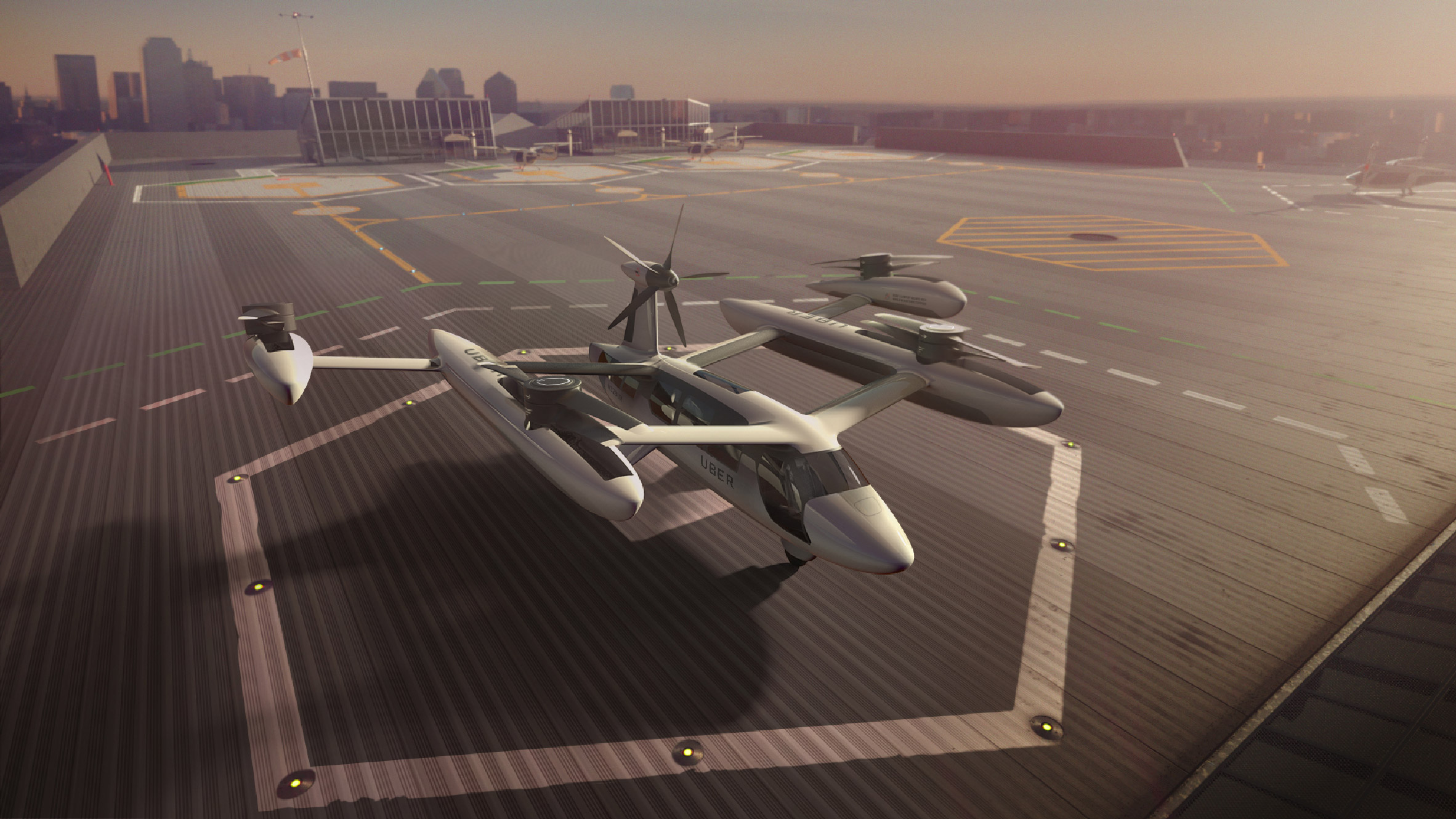 Uber unveils drone-like