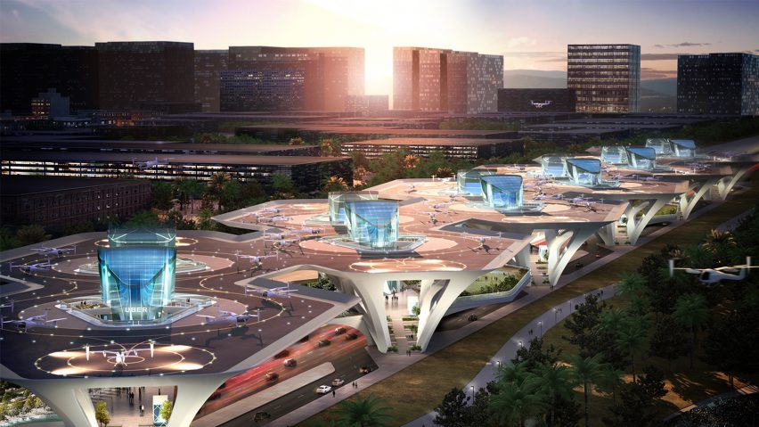 Uber Reveals Skyport Proposals For Flying Taxi Services