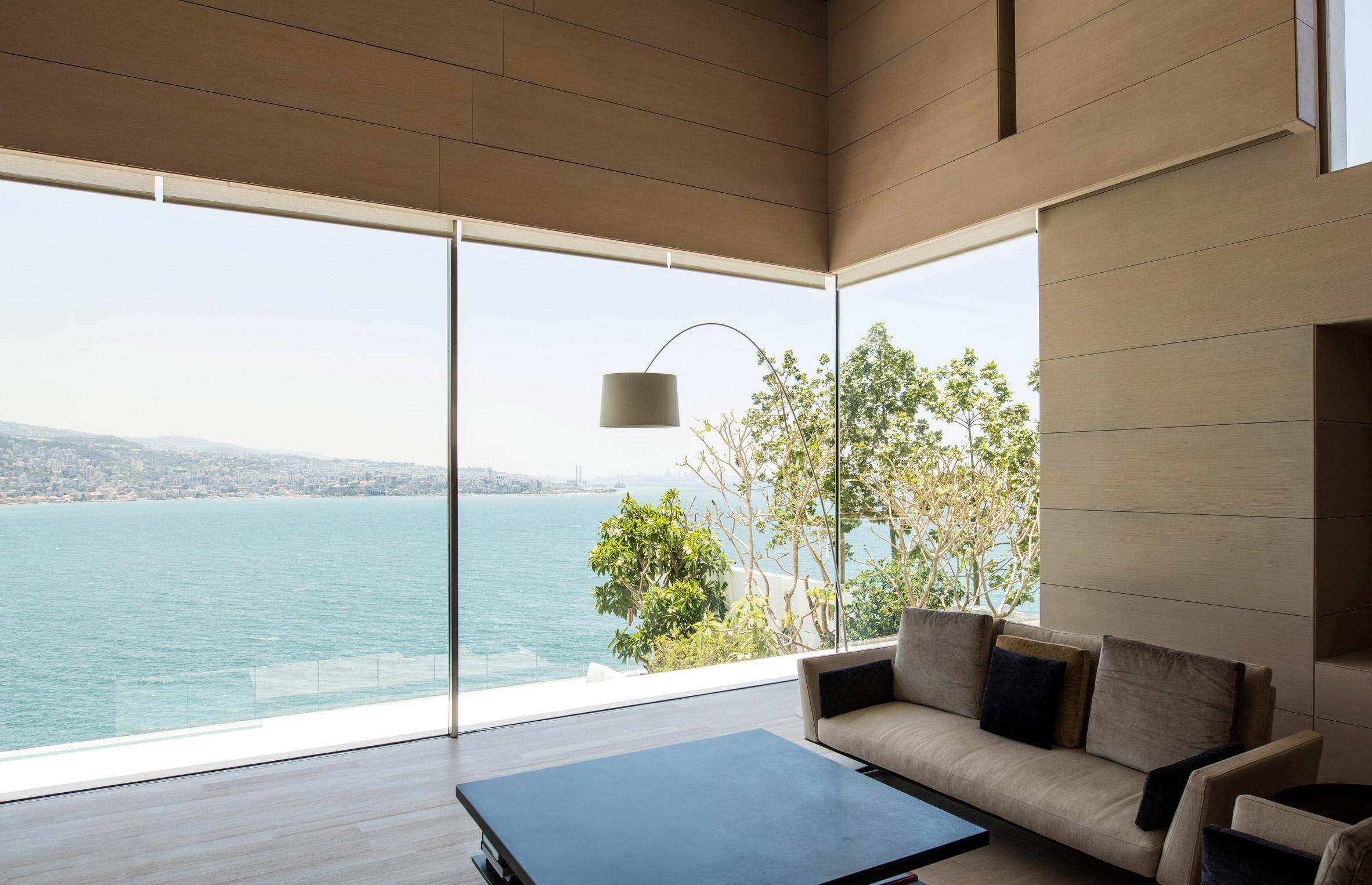 Vitrocsa offers floor-to-ceiling glazing that slides open around corners