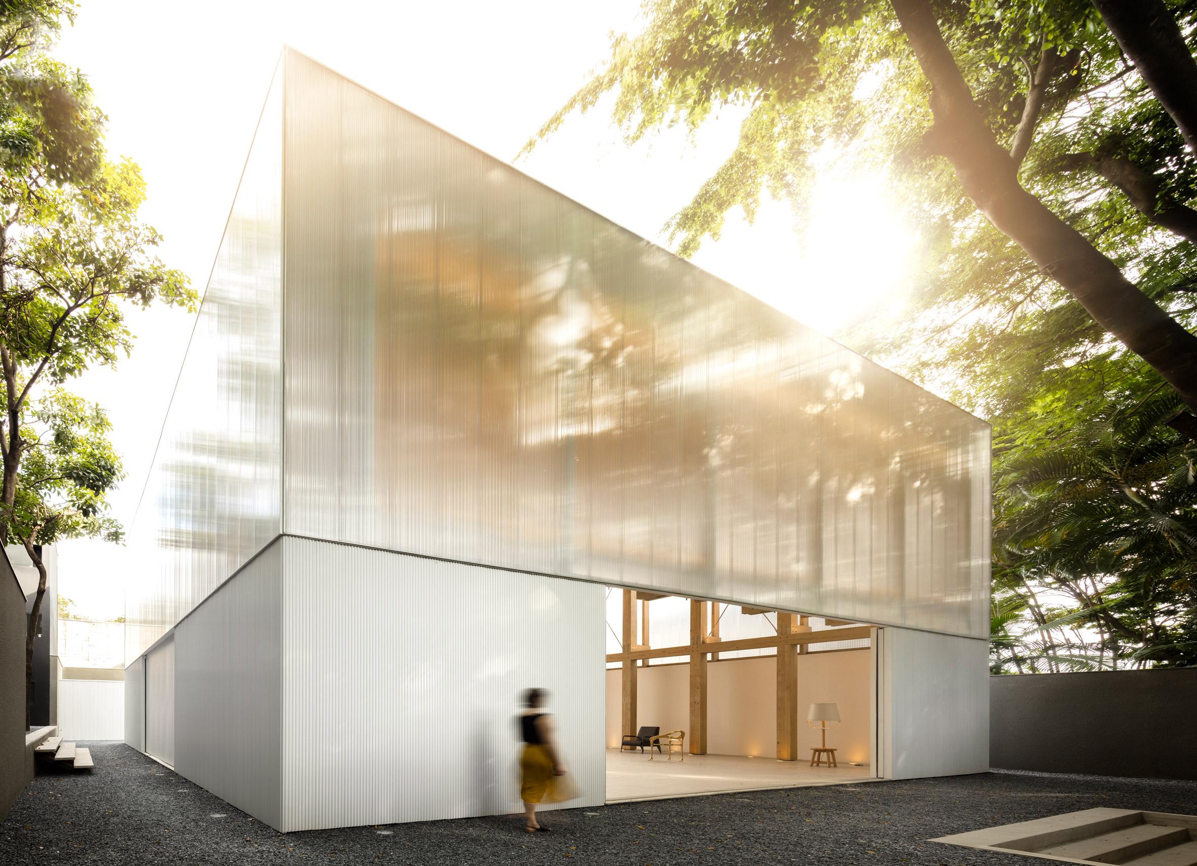 Studio MK27 creates minimalist pavilion for Micasa campus in São Paulo