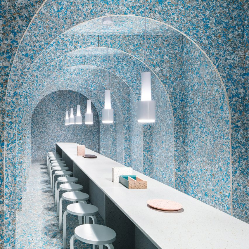 Dezeen's top 10 installations of 2018: Zero Waste Bistro, USA, byFinnish Cultural Institute