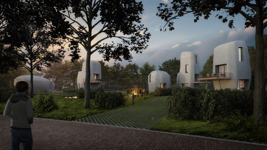 "Eindhoven to build ""world's first"" 3D-printed houses that people can live inside"