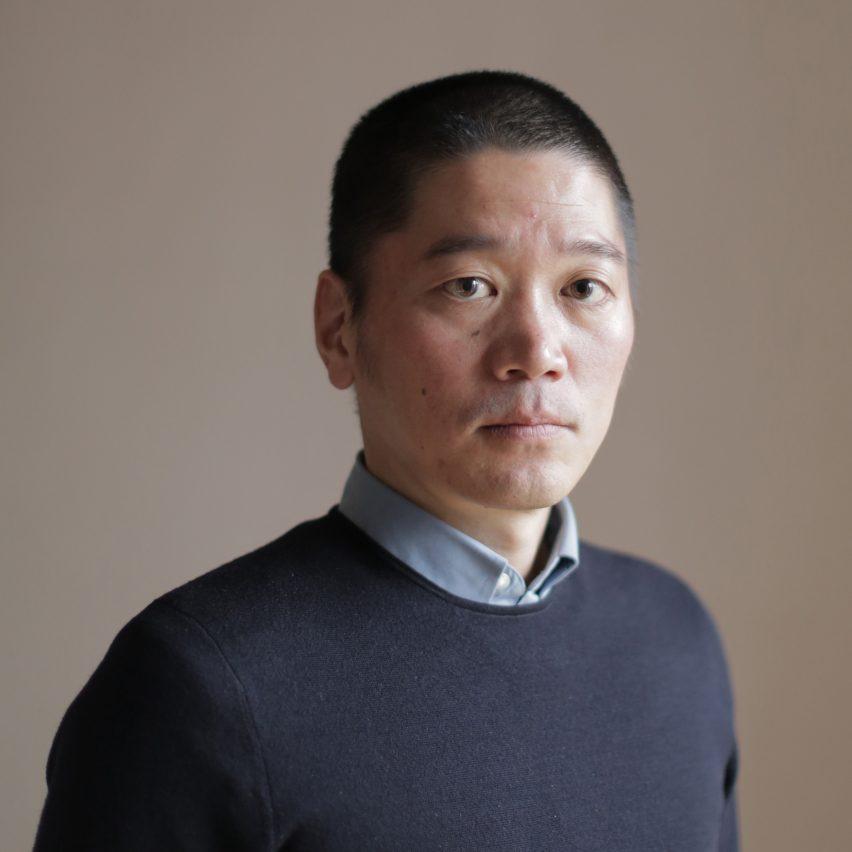 Arihiro Miyake portrait by Dezeen