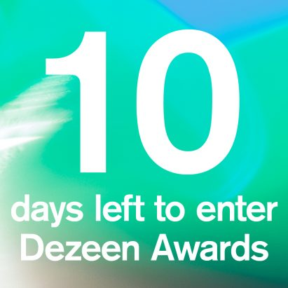With 10 days left to enter Dezeen Awards, here are 10 things you need to know