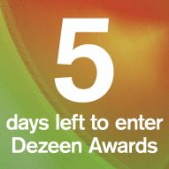 With five days left to enter Dezeen Awards, here is what you need to know about the studio categories