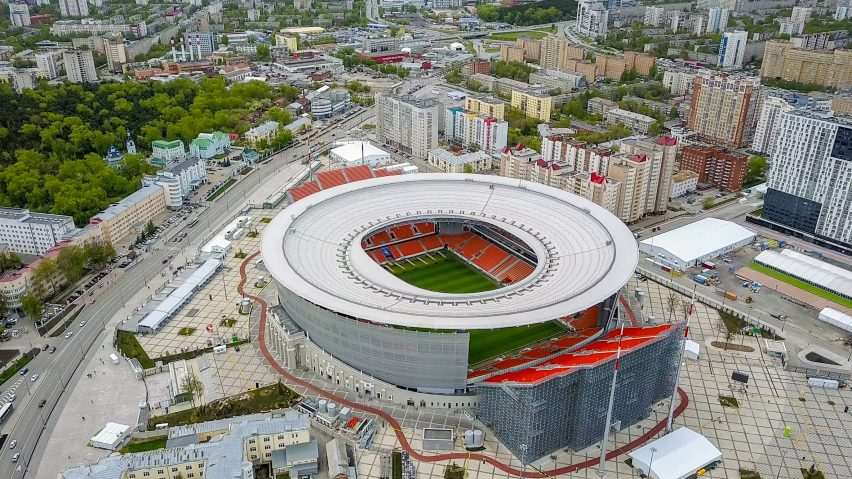The design and architecture behind the Russian World Cup stadiums