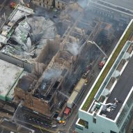"Rebuild of ""irreparable"" Glasgow School of Art estimated at over £100 million"