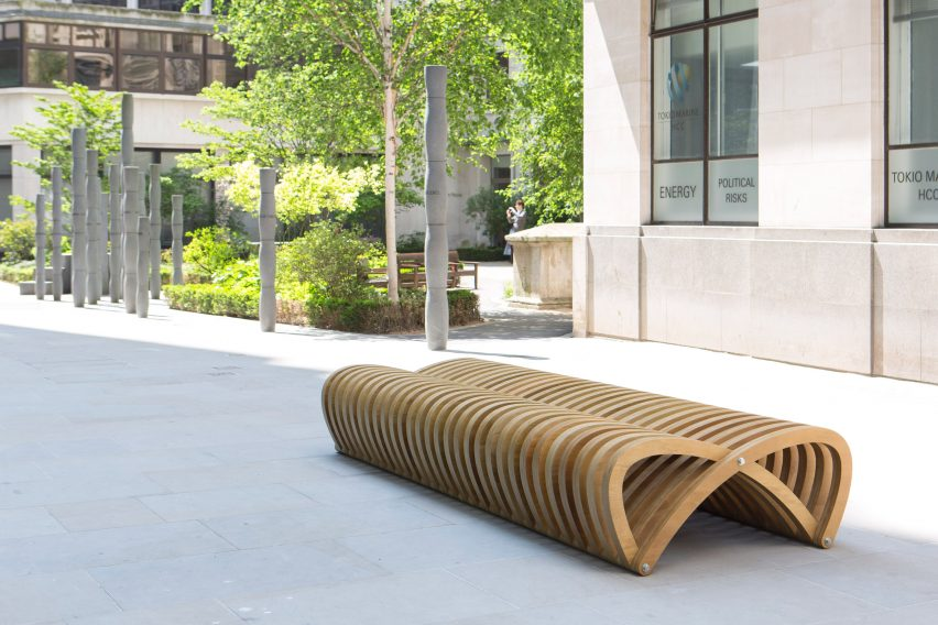 London Festival of Architecture City Benches