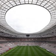 Moscow's historic Luzhniki Stadium refurbished for World Cup 2018