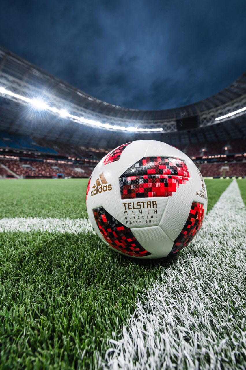 Adidas reveals interactive match ball for knockout stage of World Cup