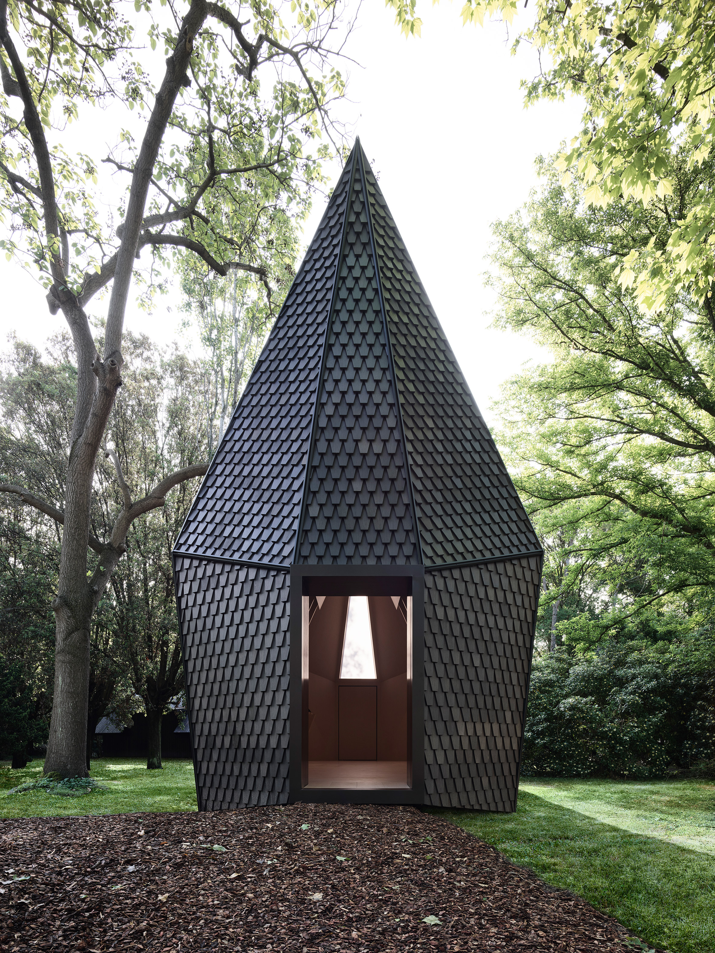 Vatican's Venice Biennale pavilion made using bespoke shingles by Alpi