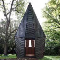 Vatican's Venice Biennale pavilion made using bespoke shingles by Alpi