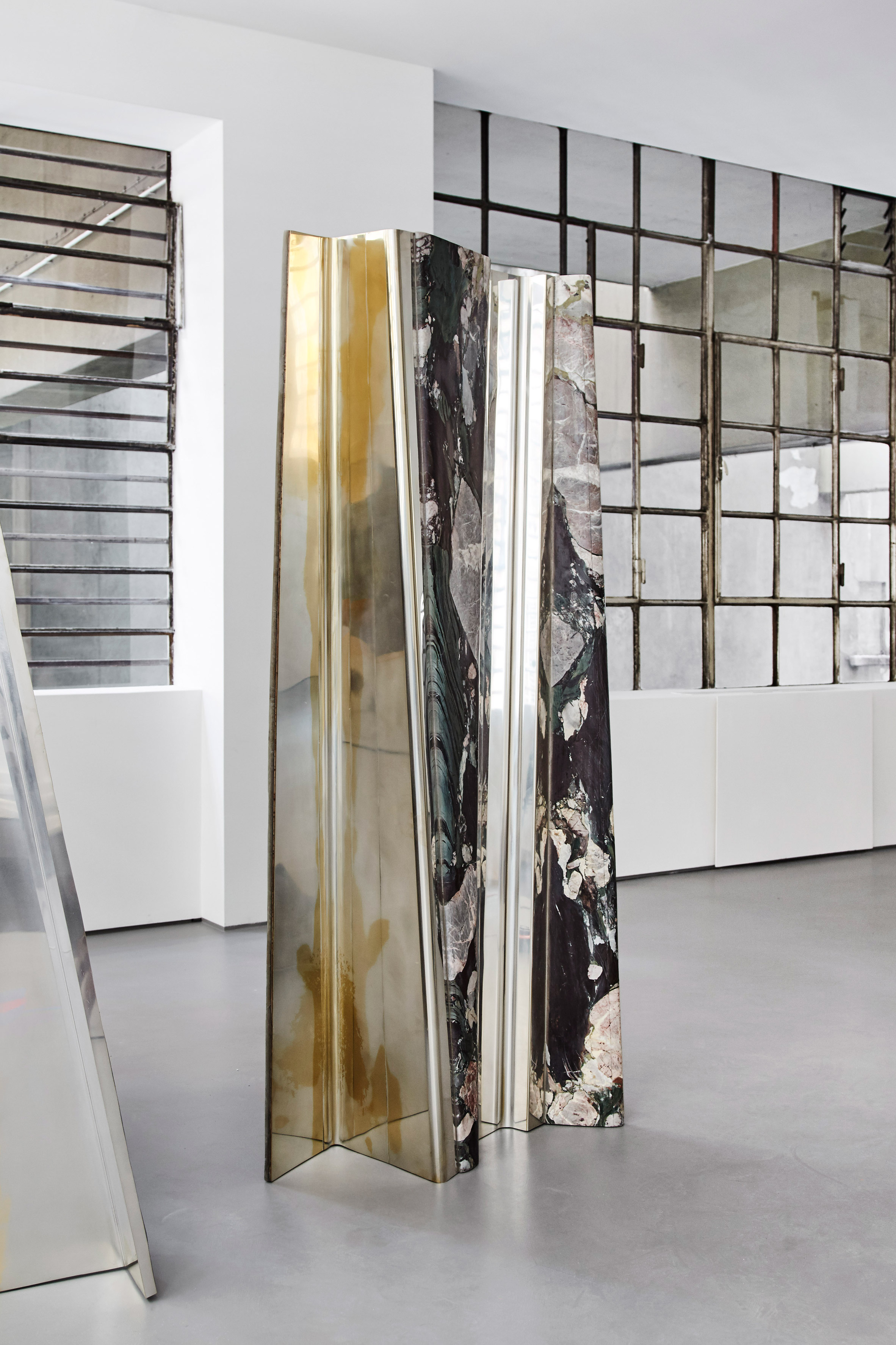 glass form furniture baroquisme by vincenzo de cotiis pools of metal and glass form cotiis