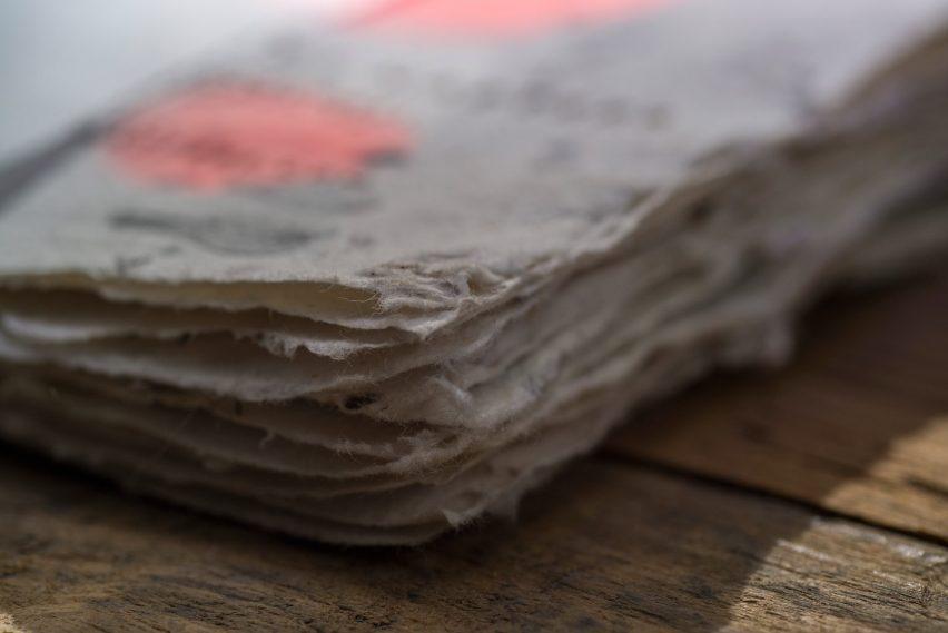 Bee-saving paper