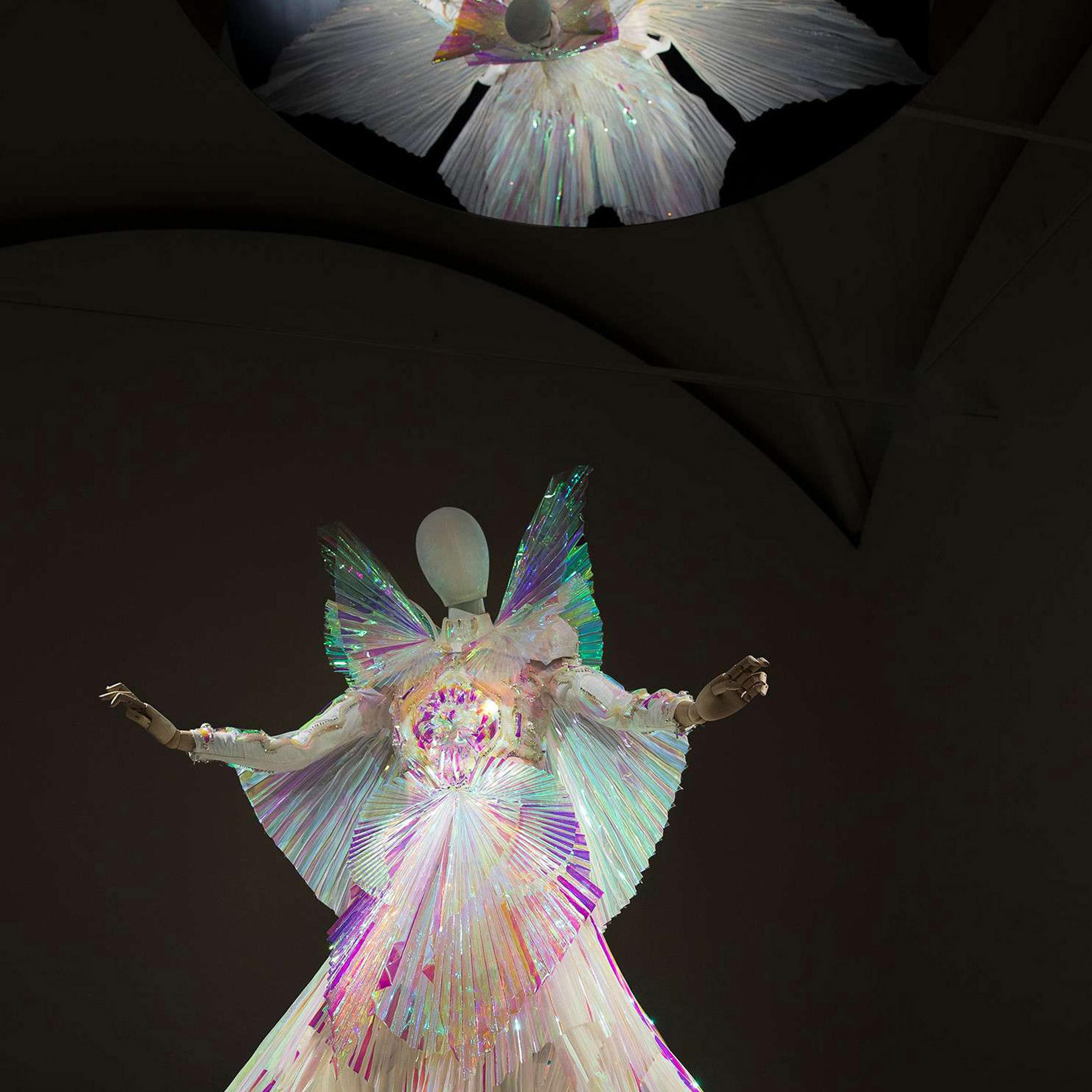 ec263bcec8fe8d Gucci Garden exhibition features Björk's dresses