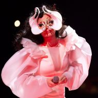 "Björk explains designs of ""magically utopian"" sets and costumes"