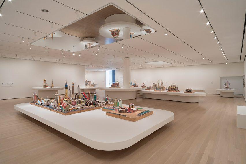 Bodys Isek Kingelez exhibition at MoMA