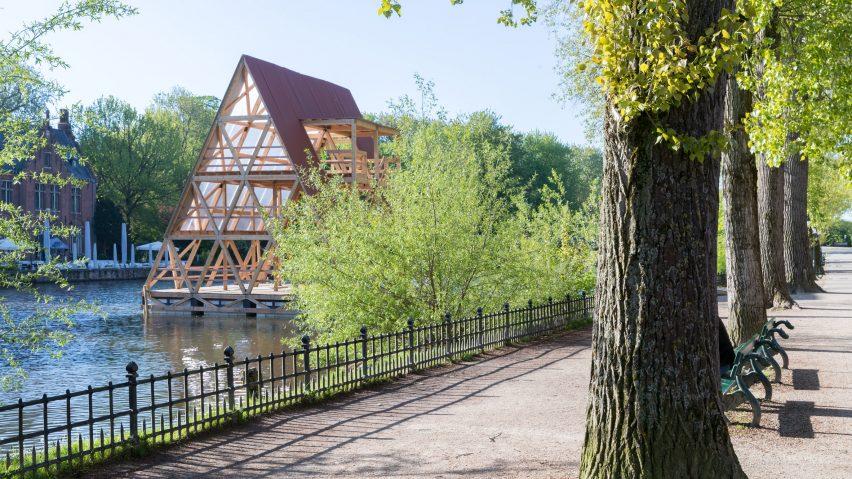 Bruges Triennale pavilions