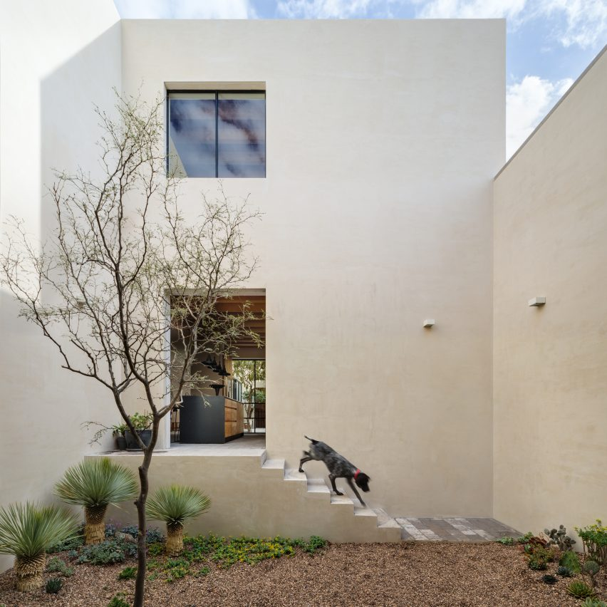 Dezeen's top 10 houses of 2018: Casa La Quinta, Mexico, by Pérez Palacios and Alfonso de la Concha Rojas