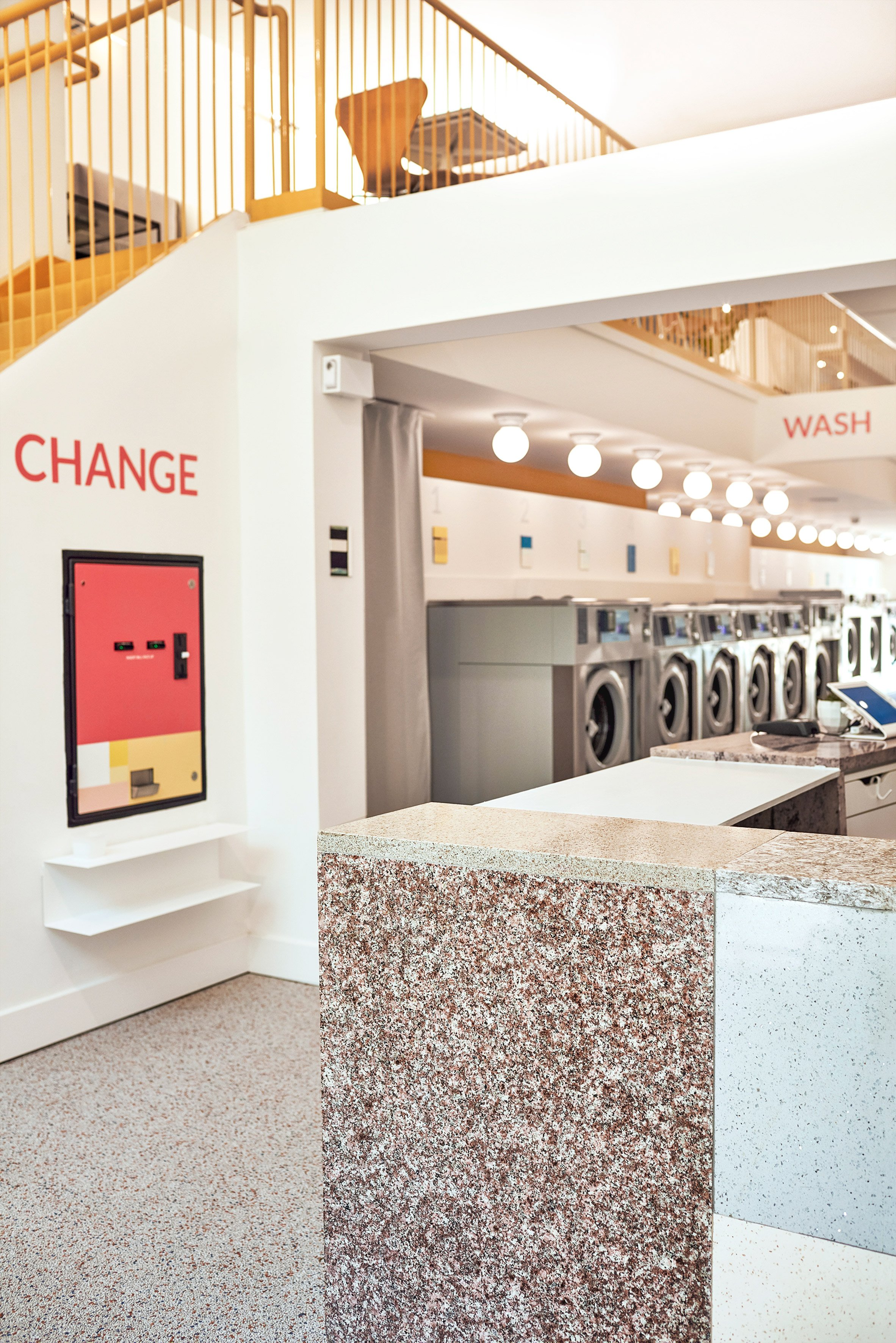Corinna and Theresa Williams pair laundromat and cafe at Celsious in Brooklyn