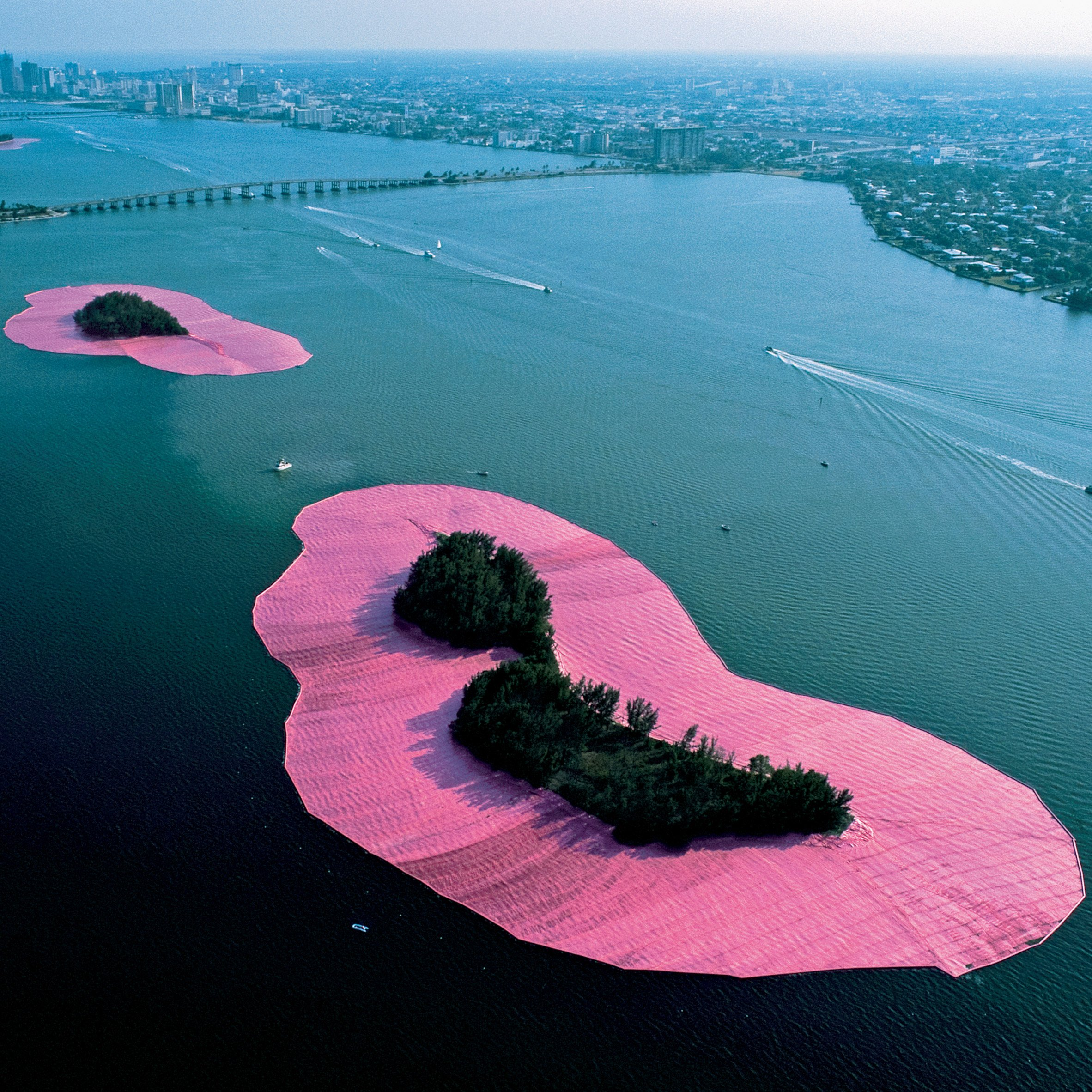Eight key projects by Christo and Jeanne Claude