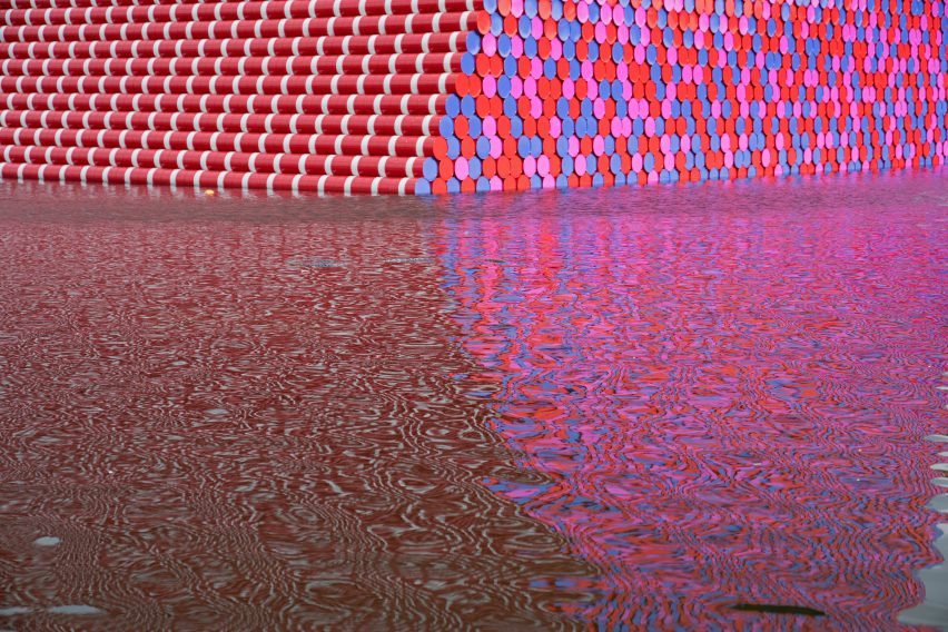 Christo's The London Mastaba at the Serpentine
