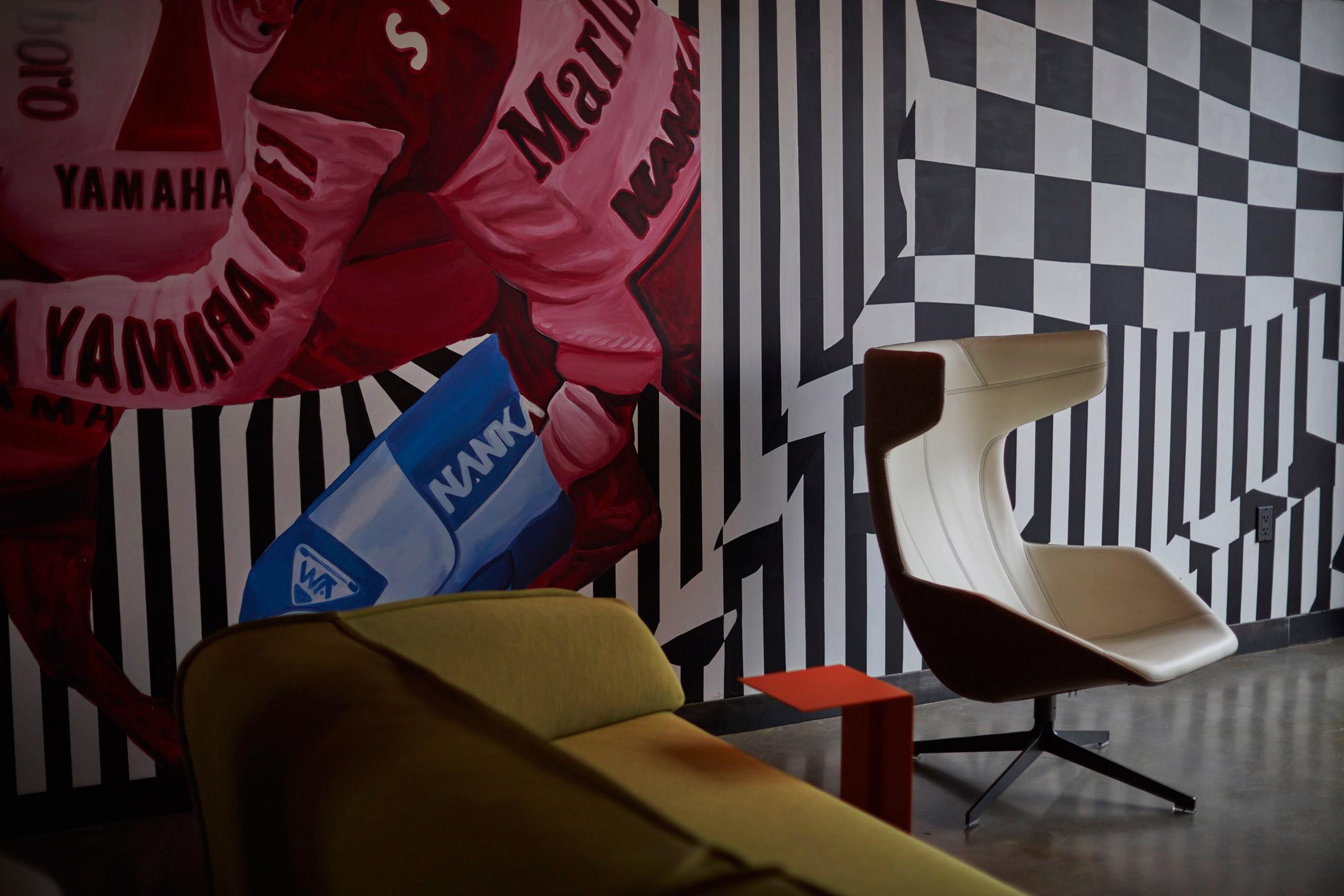 Classic Car Club Manhattan Pier 76 by Marc Thorpe Design