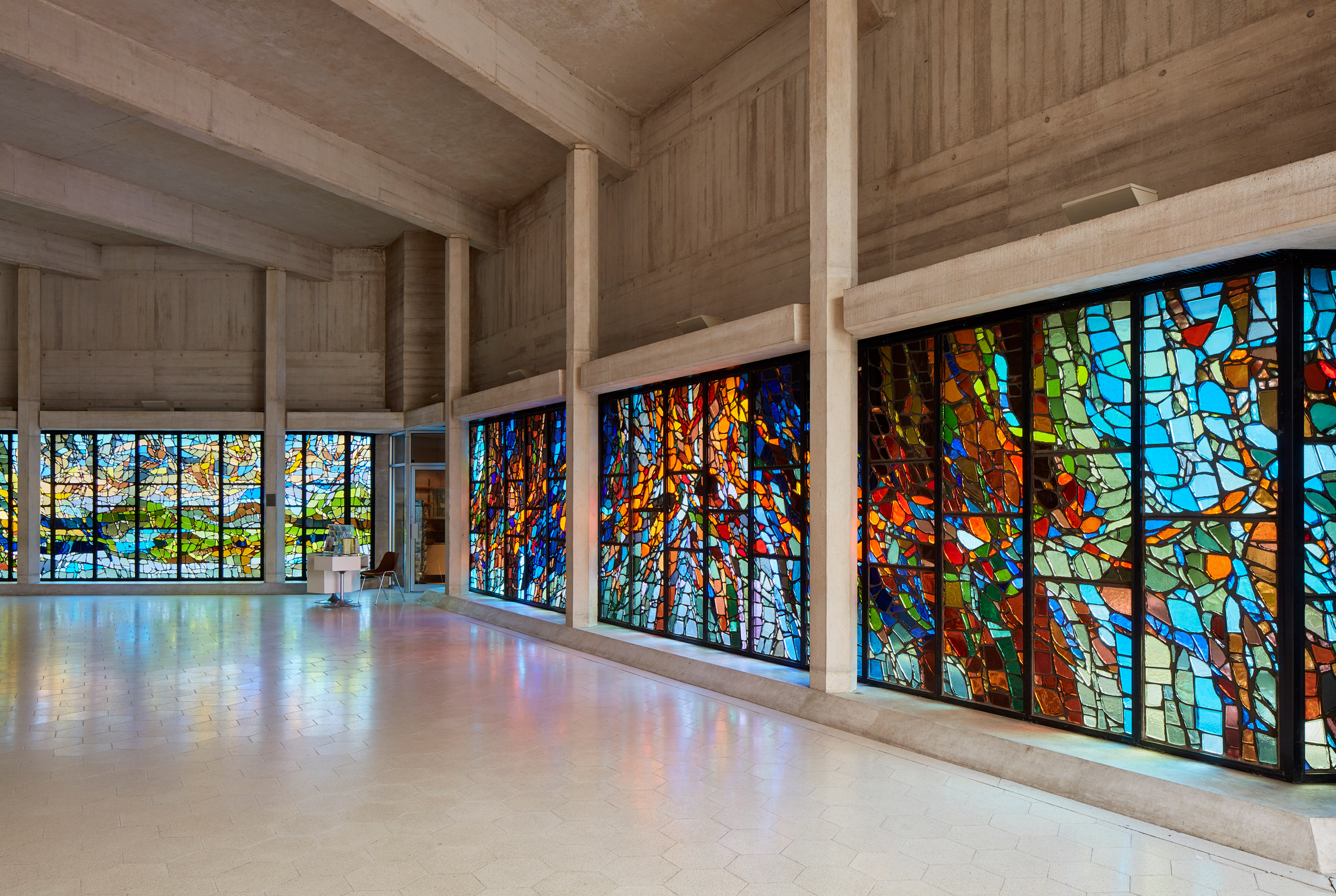 Clifton Cathedral refit by Purcell, photo by Phil Boorman