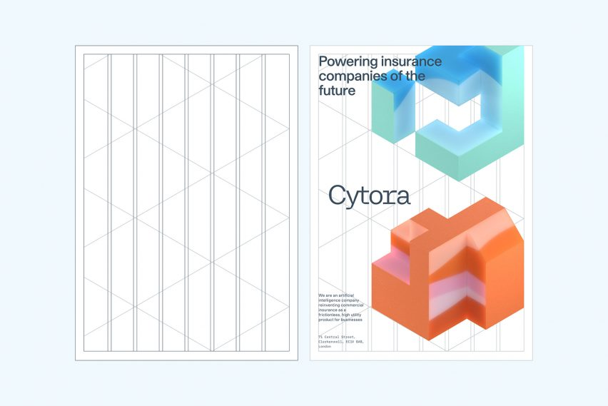 "Pentagram creates ever-evolving brand identity ""sculpted by the continuous flow of data"""