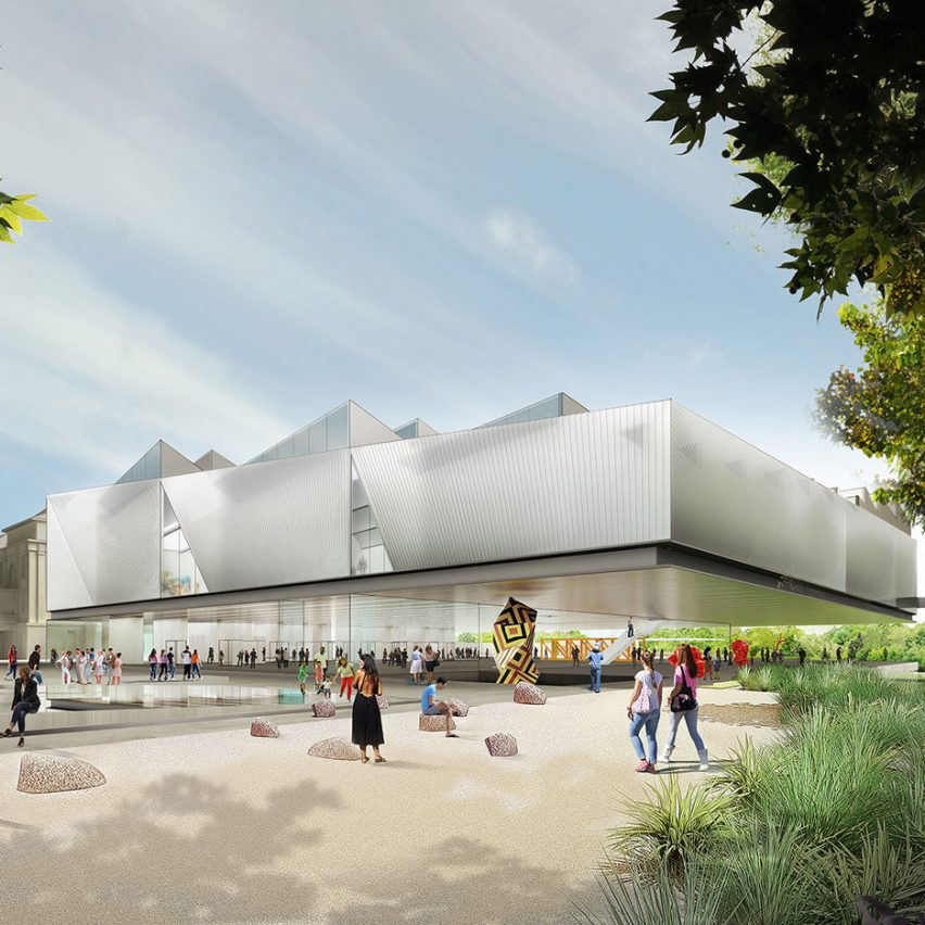 Adelaide Contemporary gallery winner is Diller Scofidio + Renfro and Woods Bagot