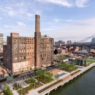 Six-acre park opens at Williamsburg's Domino Sugar Factory site