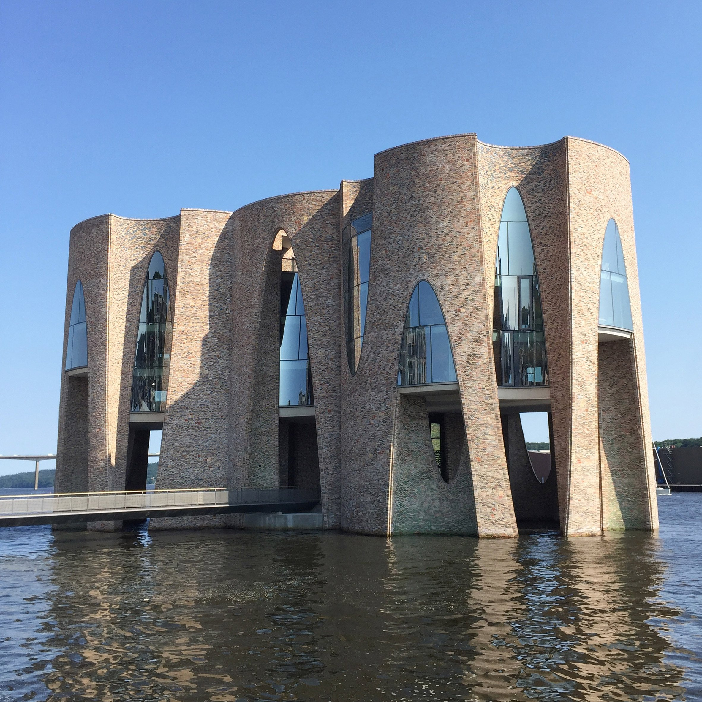 Olafur Eliassons First Building Is A Castle Like Office In A Danish Fjord