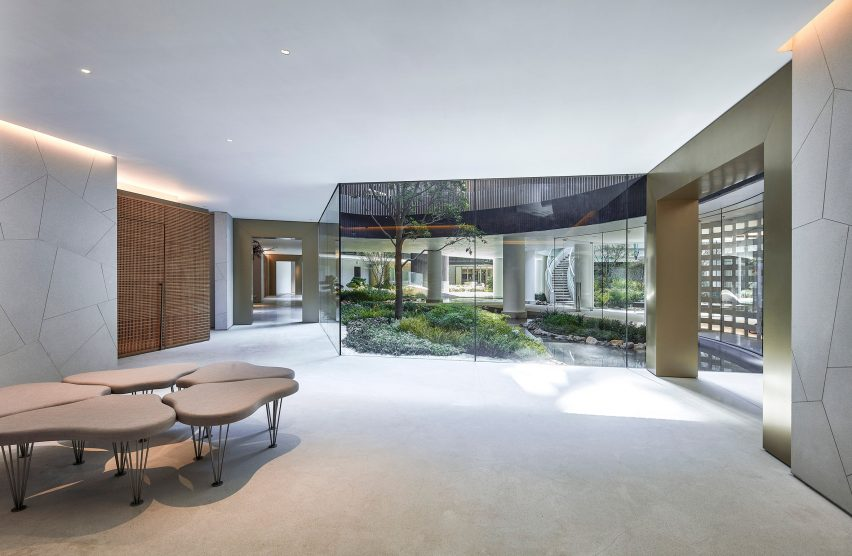 Fleur Pavilia clubhouse by New World Development