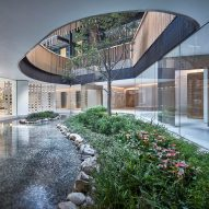 Fleur Pavilia clubhouse offers Hong Kong residents respite from city life