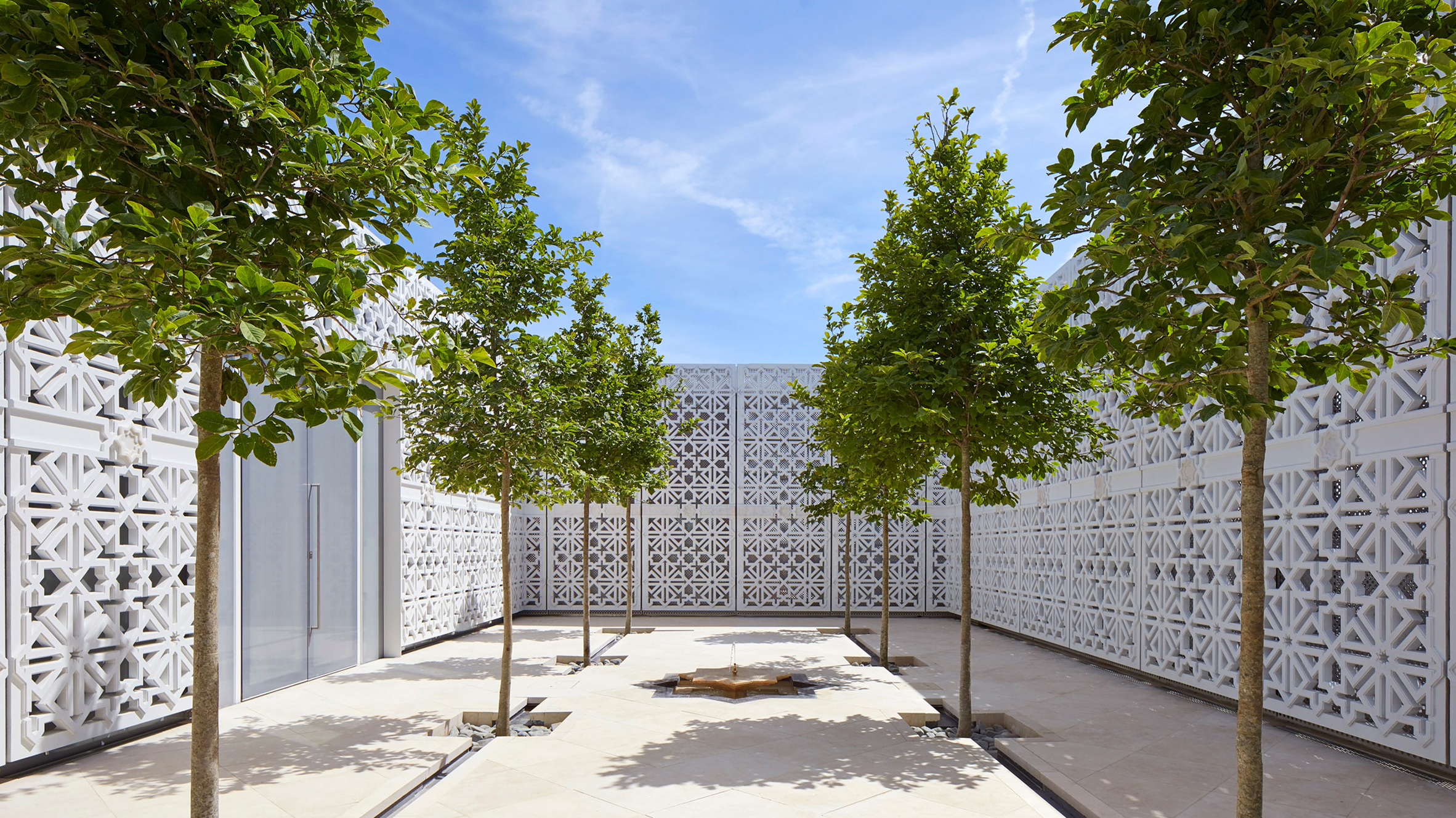 This week, Christo spoke to Dezeen and Fumihiko Maki's Aga Khan Centre completed