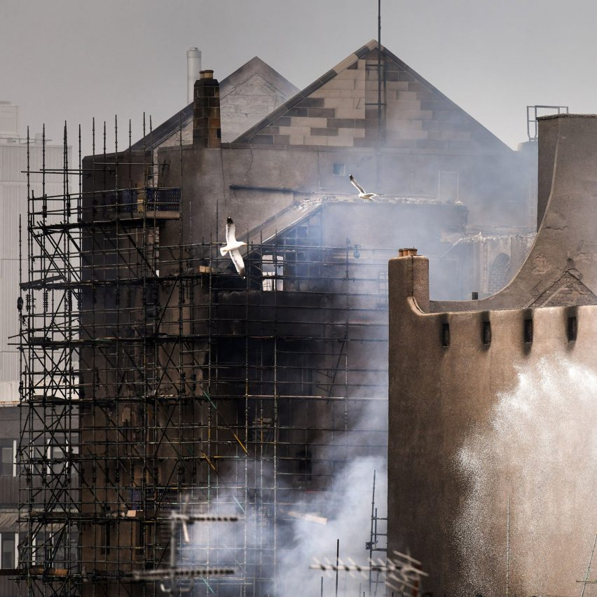 """Glasgow School of Art refutes claim removed mist system """"would havesaved"""" building"""