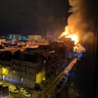 Fire devastates Mackintosh's Glasgow School of Art for a second time