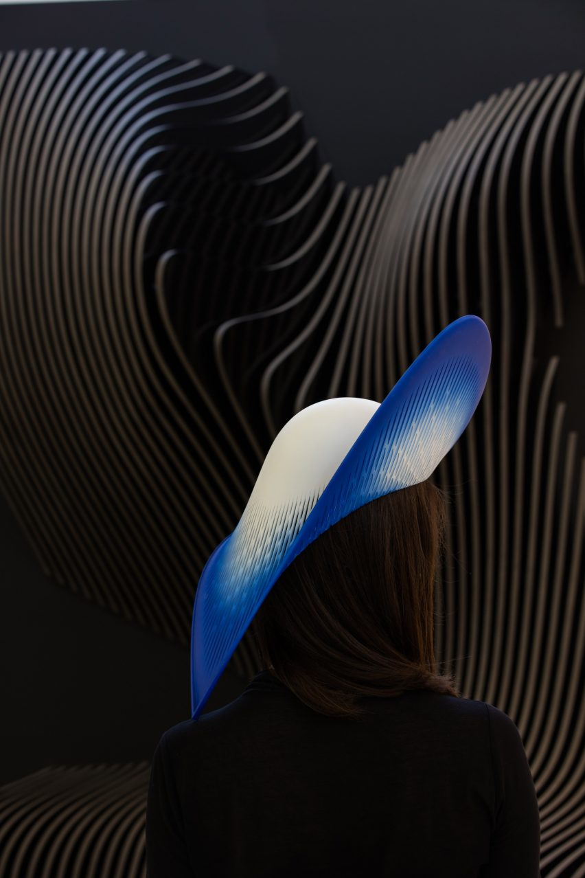 H-Line hat by ZHA
