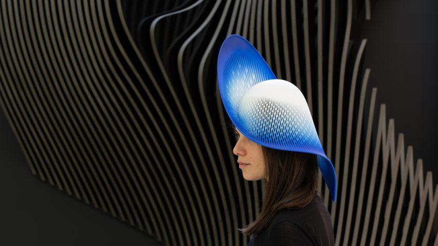 H-Line hat by ZHA