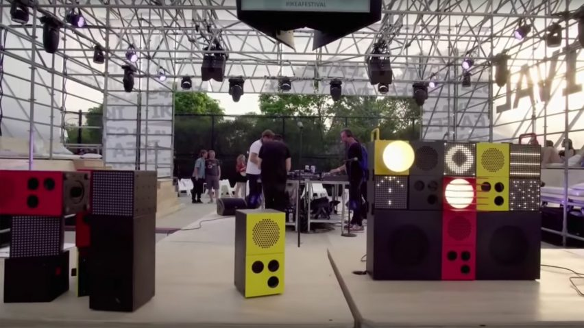 IKEA works with Teenage Engineering on range of portable speakers and lights